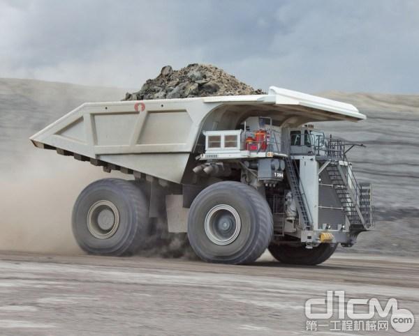 利勃海尔T284非公路矿用卡车